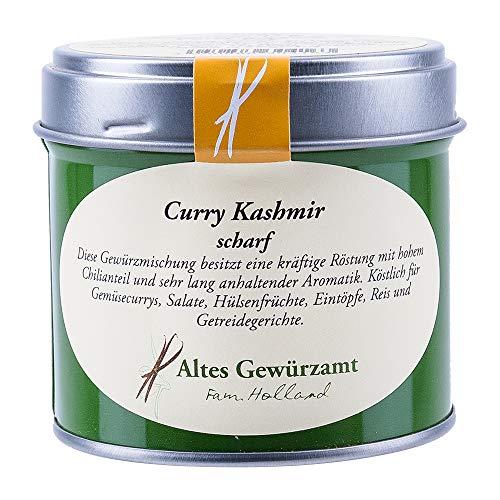 Curry Kashmir Gewürzmischung Pulver Scharf 65 g - Altes Gewürzamt Fam. Ingo Holland