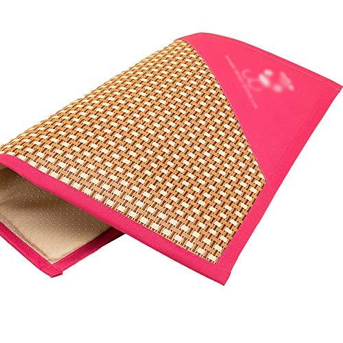 Pet Cool Down Mat Bamboo matras van ijsblokjes, zomer A Prova warmtedempers, ademend, Oxford-stof, opvouwbaar