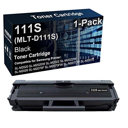 1 paquete de cartuchos de tóner compatibles con impresoras láser 111S MLT-D111S para Samsung Xpress SL-M2020W SL-M2022W SL-M2060 SL-M2070FW (1000 páginas)