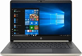 "2019 HP 14, 14"" HD Thin & Light Flagship Laptop Computer, 7th Gen Intel Core i3-7100U 2.40GHz, 4GB DDR4 RAM, 128GB SSD, Wi..."