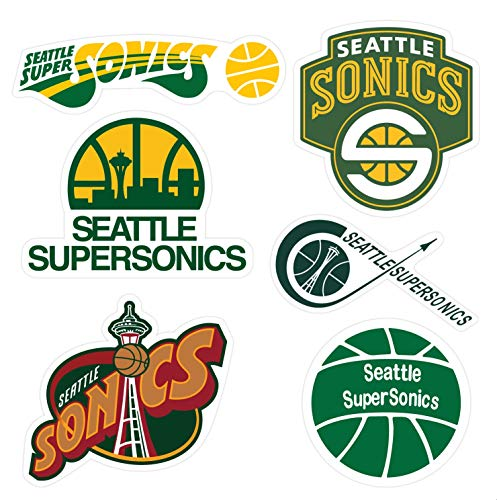 Seattle Supersonics Sticker Pack
