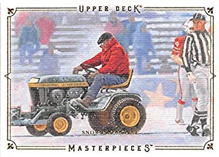 Snow Plow Game football card (New England Patriots Dolphins) 2008 Upper Deck Masterpieces #80