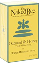 product image for The Naked Bee Oatmeal & Honey Triple Milled Soap, 5 Ounce, Orange Blossom Honey