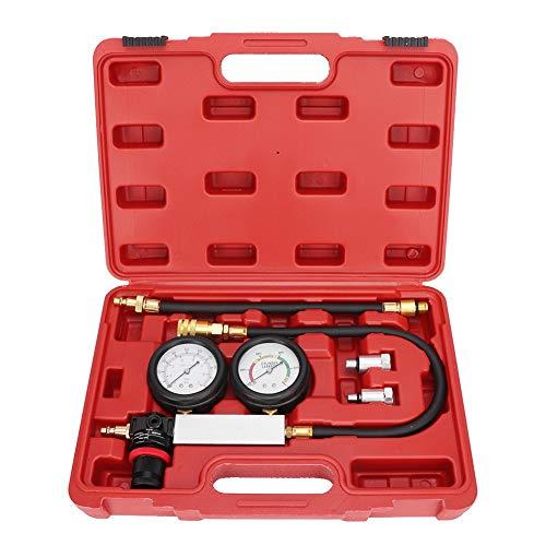 Dubbelt tryckmätare läckagedetektor för cylinderkompressionsläckagedetektor