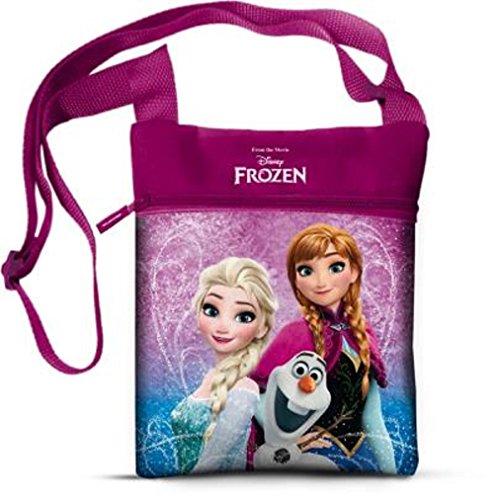 Star  Disney Frozen Art. Code- 42954, Borsa e Borsa a Spalla Forma Quadrata con Lato Posteriore, Misura 16,5 x 21 cm