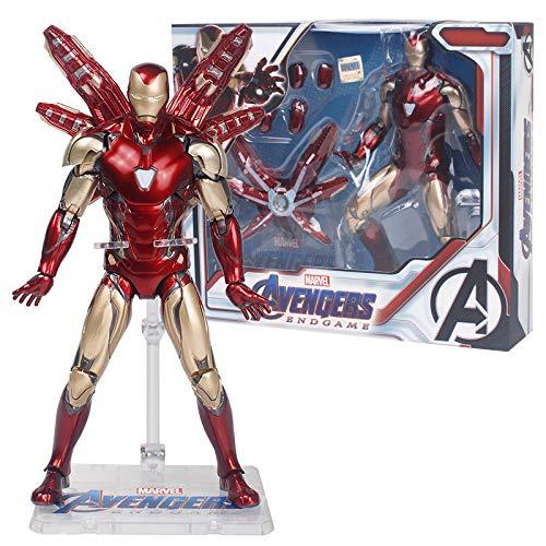 Action Figures Mk85 Iron Man, Versione Stand, Modello Mobile Comune, Giocattolo per Bambini,A