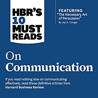 HBR's 10 Must Reads on Communication cover art