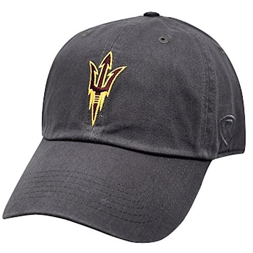 save off f8c5a ae61a Top of the World NCAA Men s Hat Adjustable Relaxed Fit Charcoal Icon