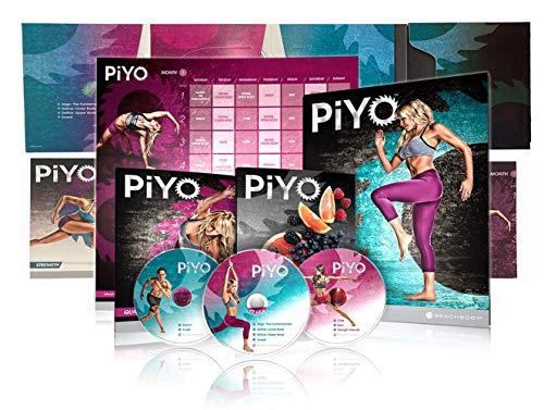 FGHM PiYo Base Kit 5 DVDs- Pilates Yoga Workouts Fitness Program...