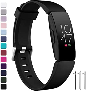 Ouwegaga Bands Compatible for Fitbit Inspire HR and Fitbit Inspire for Women Men and Fitbit Ace 2 Bands for Kids Multi Color Combo