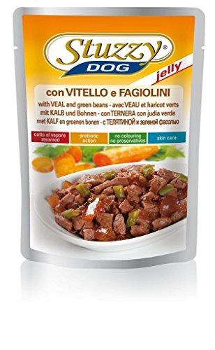 Stuzzy Dog Kalb u. Bohnen Jelly, 24er Pack (24 x 100 g)
