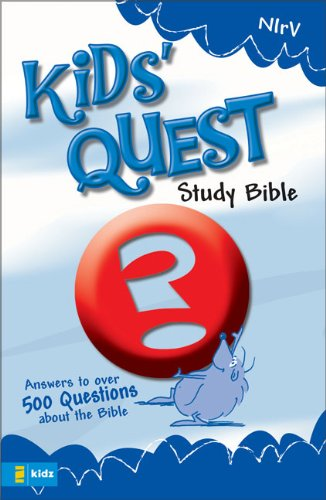 Compare Textbook Prices for NIrV Kids' Quest Study Bible: Real Questions, Real Answers New International Readers Version Revised Edition ISBN 9780310708797 by Zondervan