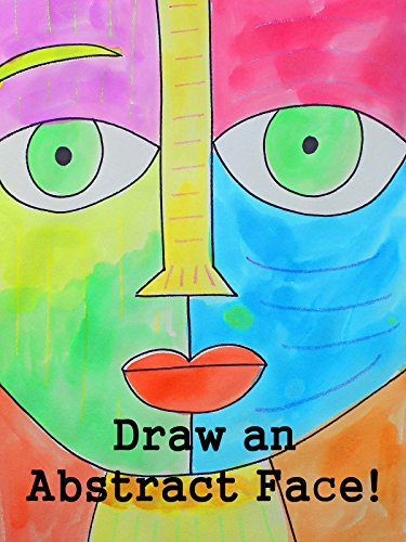 Drawing and Watercolor Painting an Abstract Face