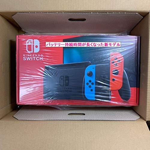 【新モデル】Nintendo Switch 本体【Joy-Con(L) ネオンブルー/(R) ネオンレッド】 任天堂 [HAD-S-KABAA NSWホンタイネオン シンモデル]