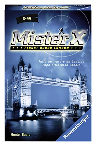 Ravensburger 23324 - Mister X - Mitbringspiel