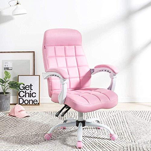 XiYou Computer Chair,Home Office Chair Boss Reclining Office Chair Bedroom Lying Sleeping Seat 64 * 64 * 107cm Armchair