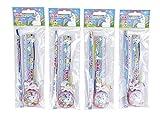 DISOK - Set 4 pcs Papelería Unicornio de Regalo. Regalos y Detalles para Cumpleaños, Comuniones, Fiestas, colegios.