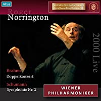 ウィーン・フィル ライヴ・エディション 24 : ウェーバー、ブラームス、シューマン (Wiener Philharmoniker Live Recording Edition 24 ~ Brahms : Doppelkonzert | Shumann : Symphonie Nr.2 / Roger Norrington) [2000 Live]