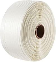 "IDL Packaging 3/4"" Heavy Duty Woven Cord Strapping Roll, 1640' Length, 1830 lb. Break Strength, 6"" x 3"" Core"