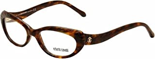 Roberto Cavalli RC0778 - 052 Eyeglass Frame Dark Havana w/ Clear Demo Lens 53mm