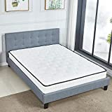<span class='highlight'><span class='highlight'>LANKOU</span></span> Memory Foam Mattress Inner Sprung 7.8 Inch Ergonomic Design Medium firm feel memory foam mattress /30 Days Risk-Free Nights Trial (4FT6 Memory Foam Mattress)