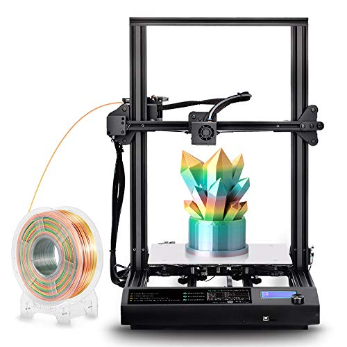 SUNLU S8 3D Printer Ultra-easy Assembly with Resume Printing + Filament Detection, Dual Z Axis, 310x310x400mm Large Build Size & Heated bed SLbUK-S8