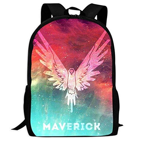 XCNGG Erwachsenen-Vollformat-Druckrucksack Lässiger Rucksack Rucksack Schultasche PPKIBYY2 Lo-gan Pa-ul Mav-Erick School Backpacks 3D Printed Bookbags Daypack Shoulder Lightweight Bag Laptop, Fashion
