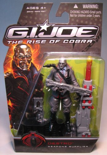 G.I. Joe The Rise of Cobra 3 3/4' Action Figure Destro (Weapons Supplier)