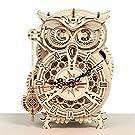 立体パズル 木製パズル 振り子時計 置き時計 手作り 目覚まし時計 クラフト プレゼント おもちゃ オモチャ 知育玩具 男の子 女の子 大人 祝い ギフト 誕生日 プレゼント 贈り物 木製 ふくろう
