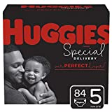 Huggies Special Delivery Hypoallergenic Baby Diapers, Size 5, 84 Ct, One Month Supply