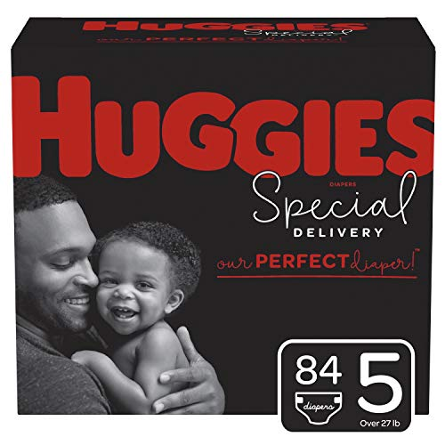 Huggies Special Delivery Hypoallergenic Baby Diapers Size 5 84 Ct One Month Supply