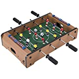 Tabletop Foosball Table- Portable Mini...