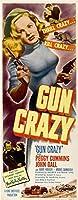 GUN CRAZY映画のポスター14x36挿入ペギーカミンズジョン平行輸入