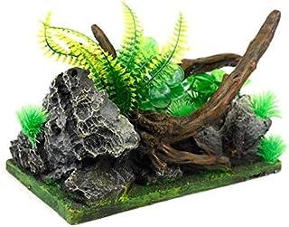 ديكور حوض السمك مع اشجار زينة لشجرة الزينة مناسبة لأحواض السمك من ديكور مائي مائي مع أشجار مزخرفة مناسبة لأحواض السمك