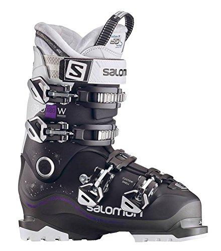 Salomon Damskie buty narciarskie X Pro X80 CS kozaki narciarskie, czarne/pomarańczowe/białe, 26