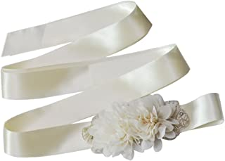 Azaleas Women's Flower Bridal Bridesmaid Dresses Sash Belts