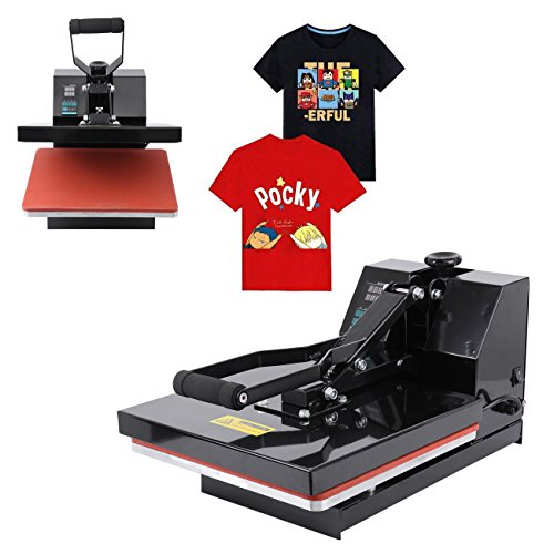 Ridgeyard 220V Profesional prensa de calor camisetas digital prensa termica para sublimacion 38cm x 38cm 0-250℃ heat press machine
