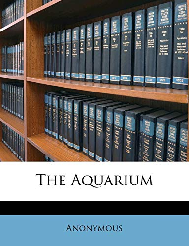 The Aquarium Volume V. 2 No. 5 Oct 1913