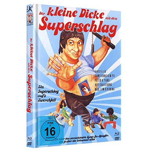 Der kleine Dicke mit dem Superschlag - Mediabook C - Special Edition (Enter the Fat Dragon) [Blu-ray]