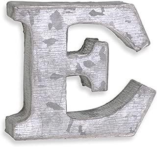 アルファベット ブリキ文字 ミニP.C.M 箱文字 E