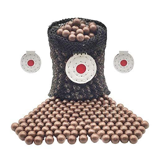 300 Stück Schleuder Munition, 10 mm harte Ton Schleuder Munition Kugeln, biologisch abbaubar Schleuder Munitionskugeln