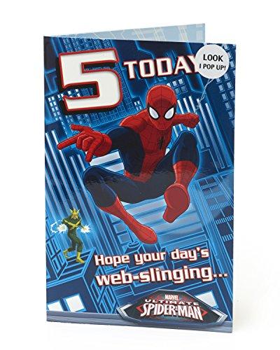 5 ans Spiderman Pop Up 5 ans