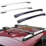 ECCPP Roof Rack Crossbars w/Side Rails fit for Toyota RAV4 2013-2018 Rooftop Luggage Canoe Kayak Carrier Rack - 4Pcs Cargo Carrier System