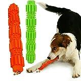 KOMUSII Hunde Zahnpflege Spielzeug,Leckerli-Spender für Hunde Welpen-Zahnpflege,100% Natürlich...