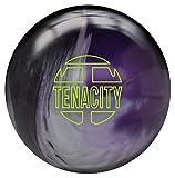 Brunswick Tenacity Bowling Ball- Black/Silver/Purple Pearl