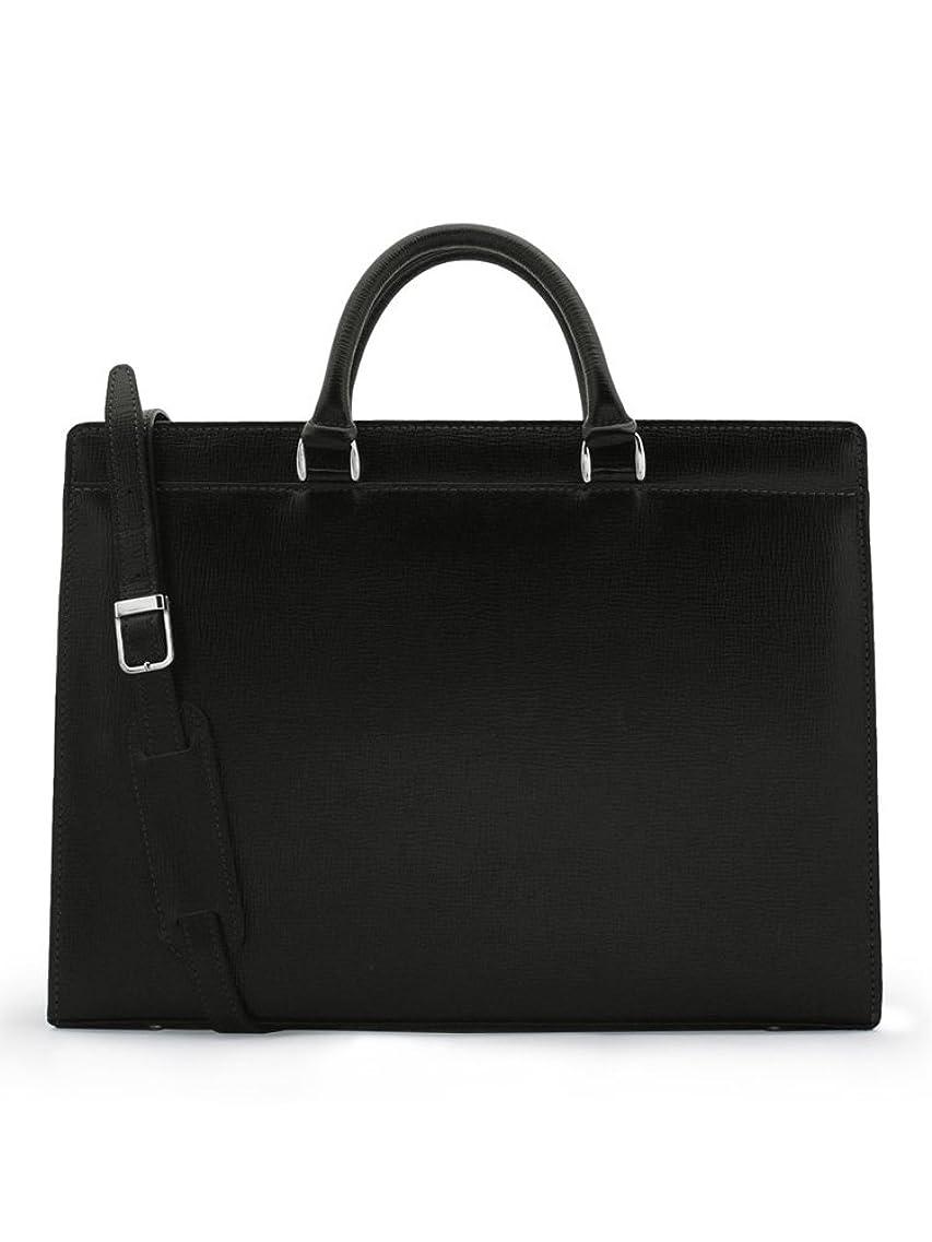 社員週末誇張する青木鞄(Lugard)ビジネスバッグ メンズ 革 [BALBOS No.4322]
