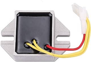 394890 845907 Voltage Regulator for John Deere Z225 Z245 Z425 Z435 Z445 Z465 Z525E Z535M Z535R Z625 Z645 Z655 Z735E Z735M Briggs & Stratton 393374 691185 797375 797182