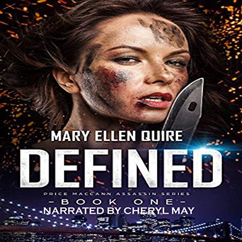 Defined audiobook cover art