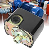 Acogedor Pressostato 20~120PS , Pressostato a Molla G1 / 4 '' 2 , Pressostato per compressore d'Aria , Pressostato a Molla Doppia Pompa Acqua 230V Premium.