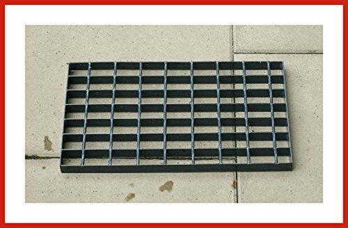 Gitterrost Laufrost Anthrazit ca. 25 cm breit in 42 bis 120 cm Länge (42 cm)